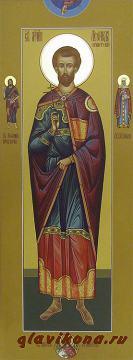 Мерная икона Лелнида Египетского, артикул 117