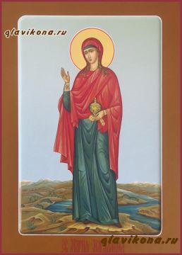 Мерная икона Марии Магдалины, артикул 120