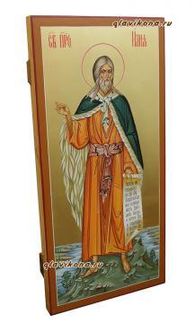 Мерная икона пророка Илии, артикул 121 - вид сбоку