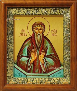Икона на холсте в киоте преподобного Даниила Столпника, артикул 60607