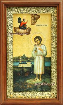Икона в киоте праведного Артемия Веркольского, артикул 60619