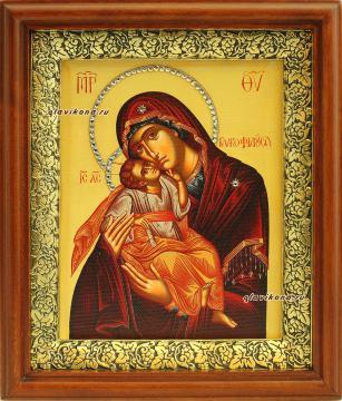 Гликофилусса, икона на холсте, в киоте, артикул 60620