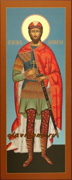 Мерная икона Александра Невского, артикул 130