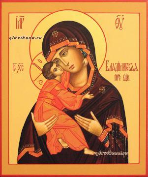 Святой образ Владимирской Божией Матери, артикул 231