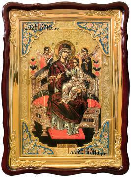 Божия Матерь Всецарица, храмовая икона 60х80 см