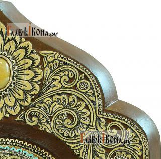 Икона Тихона - вид орнамента из бересты