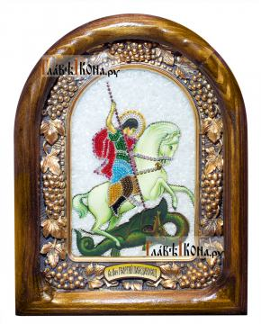 Великомученик Георгий Победоносец, дивеевская икона