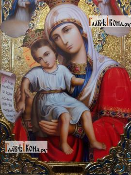 Достойно есть Божия Матерь, икона храмовая, артикул 50262 - либ Образа