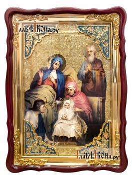 Рождество Пресвятой Богородицы, икона размером 60х80 см