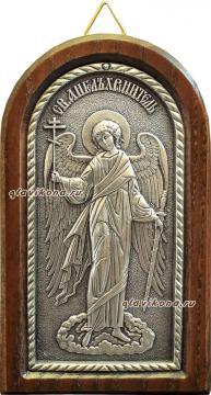 Ангел Хранитель, икона из серебра, артикул 11127