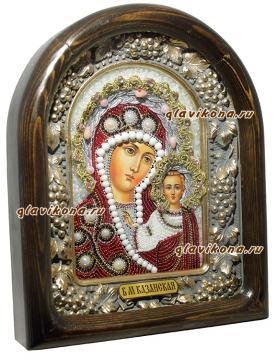 вид иконы Казанской БМ сбоку
