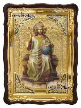 Господь на троне, храмовая икона 60х80 см