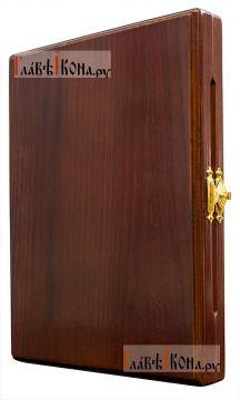 Складень серебряный, артикул 11189 - в закрытом виде, вид сбоку