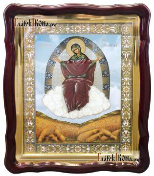 """Божия Матерь """"Спорительница Хлебов"""", аналойная икона 43х50 см, артикул 50750"""