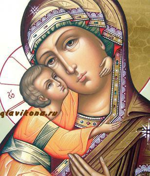 Владимирская Божия Матерь: детали